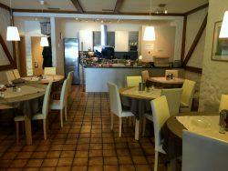 Frühstücksraum im Hotel Central in Erlangen