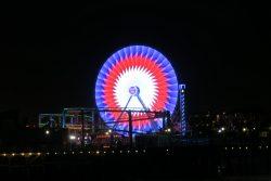 Riesenrad am Santa Monica Pier