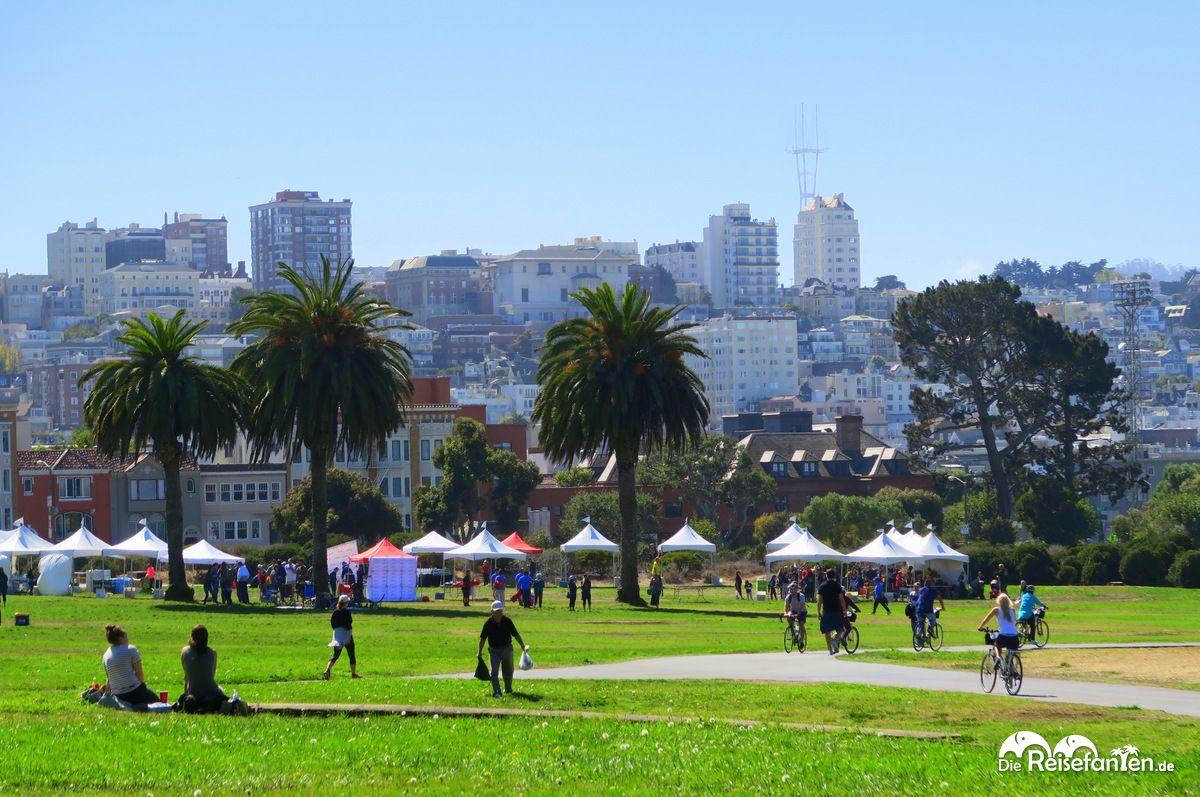 Stadtbild von San Francisco