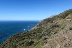 Tolle Aussichten von der California State Route 1 am Pazifik