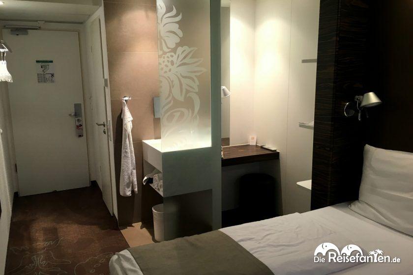 Zimmeraufteilung im Premiere Classe Hotel Düsseldorf City