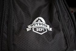 Das Logo von Outdoor Dept in der Nahaufnahme