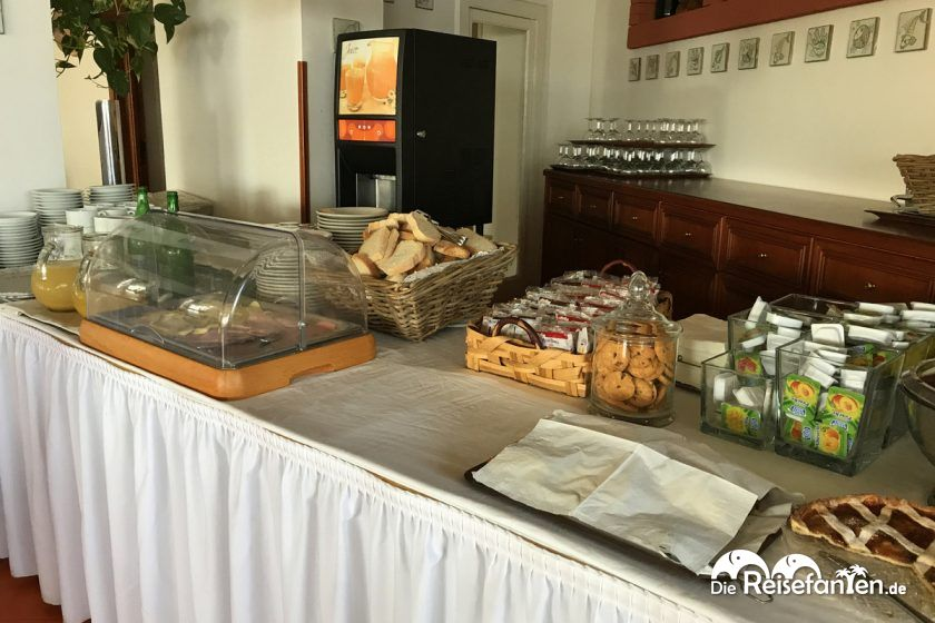 Frühstück im Hotel Dania in Sorrento