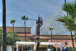 Statue am Hafen von Ensenada