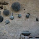 Auch Töpfe und Pfannen sind in Pompeji noch zu sehen