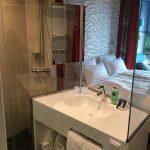Badezimmer im a ja Resort Grömitz
