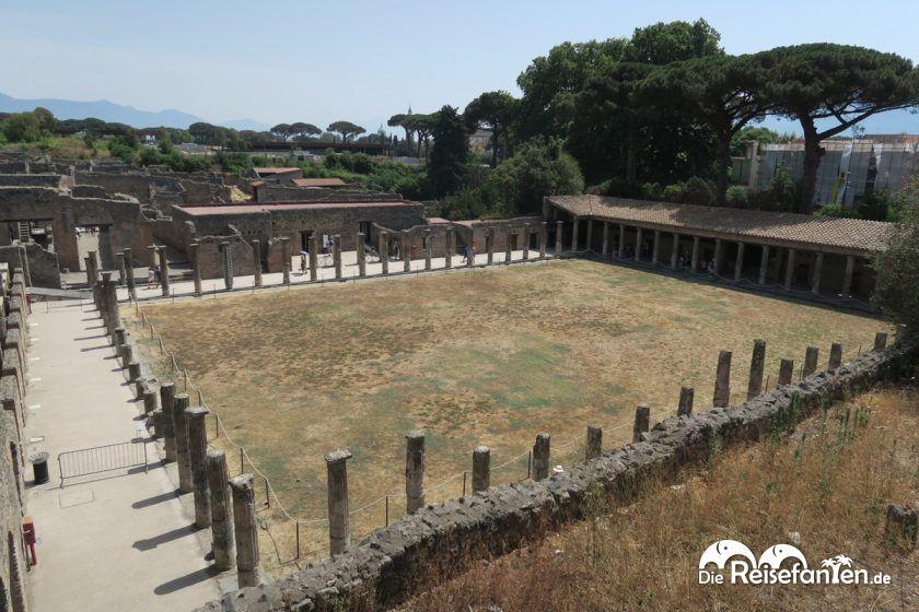 Ehemalige Trainingsanlage der Gladiatoren