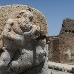 Ein Brunnen in Pompeji