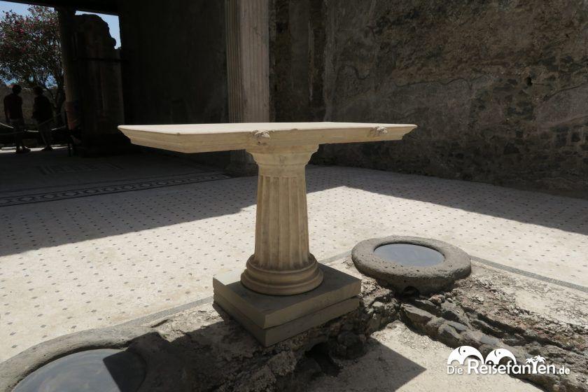 Im Hausinneren in Pompeji