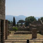 Schöne Aussicht in Pompeji