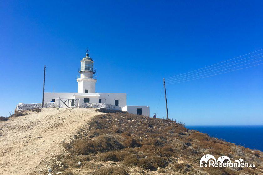 Der Leuchtturm im Norden von Mykonos