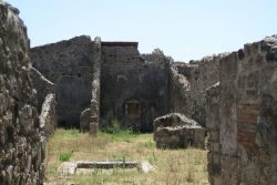 Die Ruinen von Pompeji beeindrucken