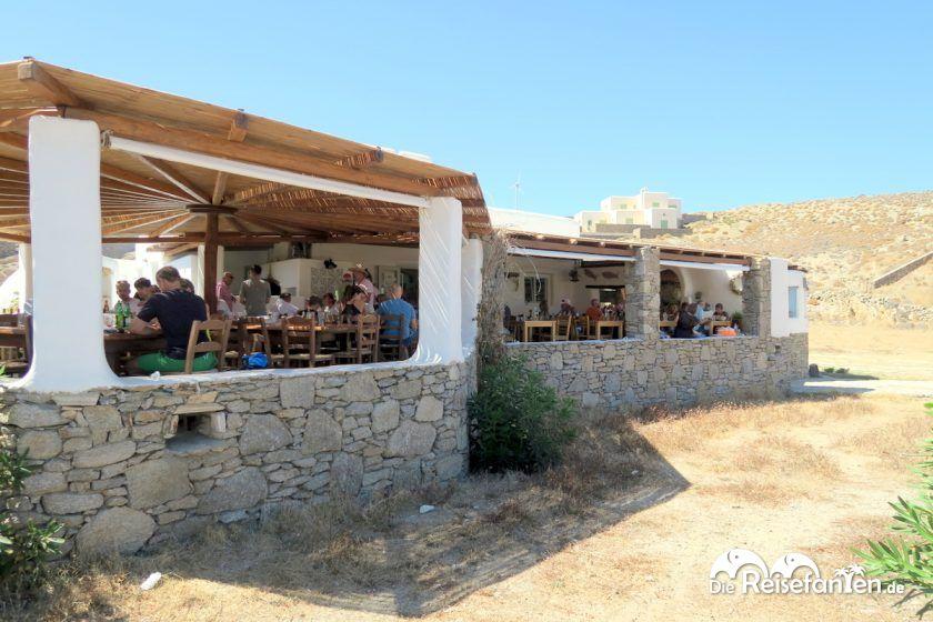 Die Taverna Fokos auf Mykonos