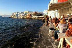 Little Venice in Mykonos Stadt