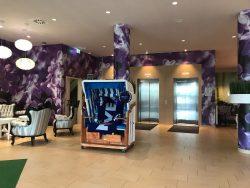 Lobby des a ja Resort Grömitz