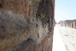Mauer in Pompeji