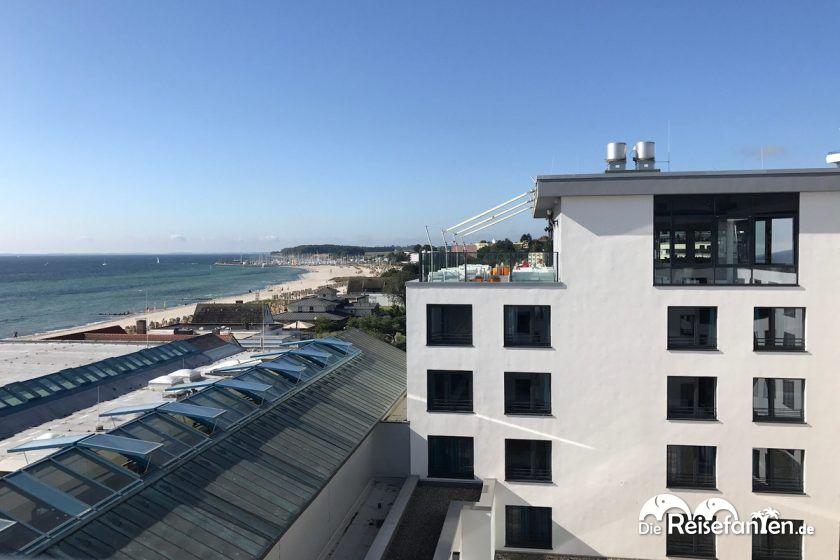 Seeblick vom a ja Resort Grömitz