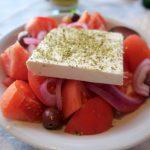 Tomatensalat mit Feta in der Joanna's Niko's Place Taverna