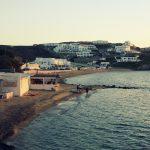 Unweit von Mykonos Stadt am Meer