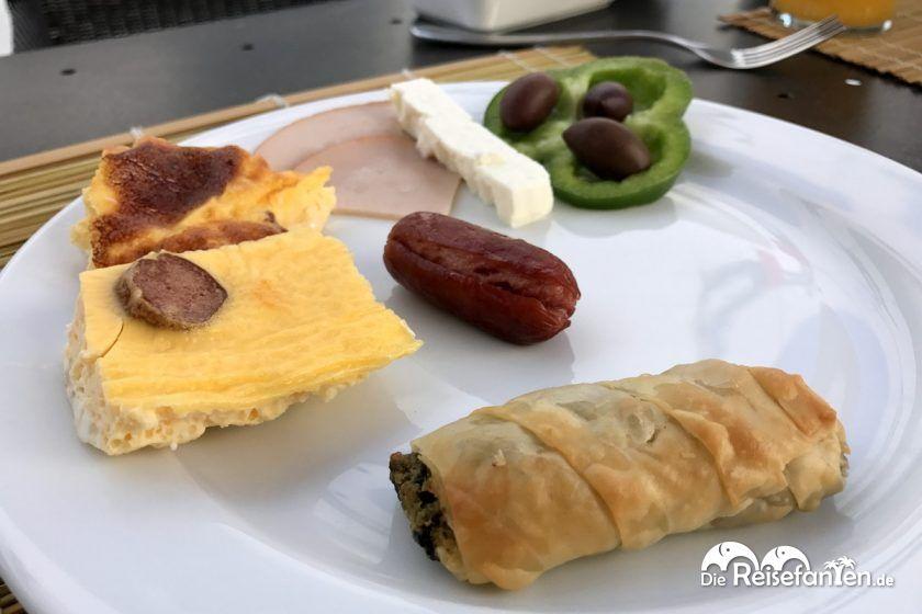 Das Frühstück im Hotel Magas