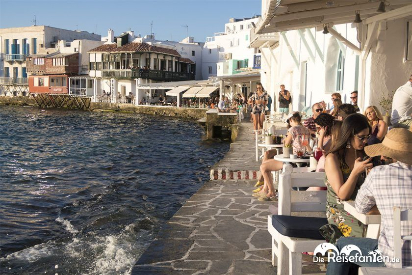 Klein Venedig in Mykonos Stadt