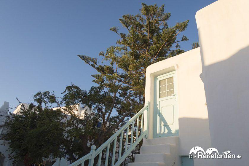 Mitten im Herzen von Mykonos Stadt