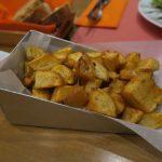 Kartoffelbeilage im Restaurant Kokkalo auf Santorini