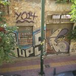 Bild eines Graffiti in Athen Bild 01