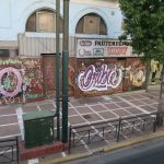 Bild eines Graffiti in Athen Bild 07