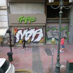 Bild eines Graffiti in Athen Bild 13
