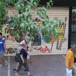 Bild eines Graffiti in Athen Bild 17