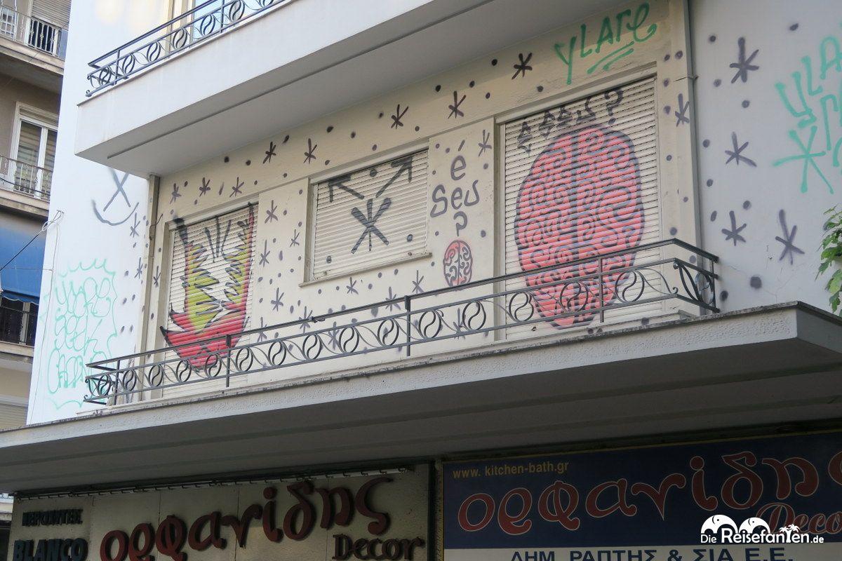 Bild eines Graffiti in Athen Bild 20
