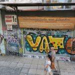 Bild eines Graffiti in Athen Bild 31