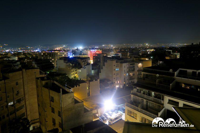 Ausblick von der Dachterrasse vom Best Western My Athens Hotel