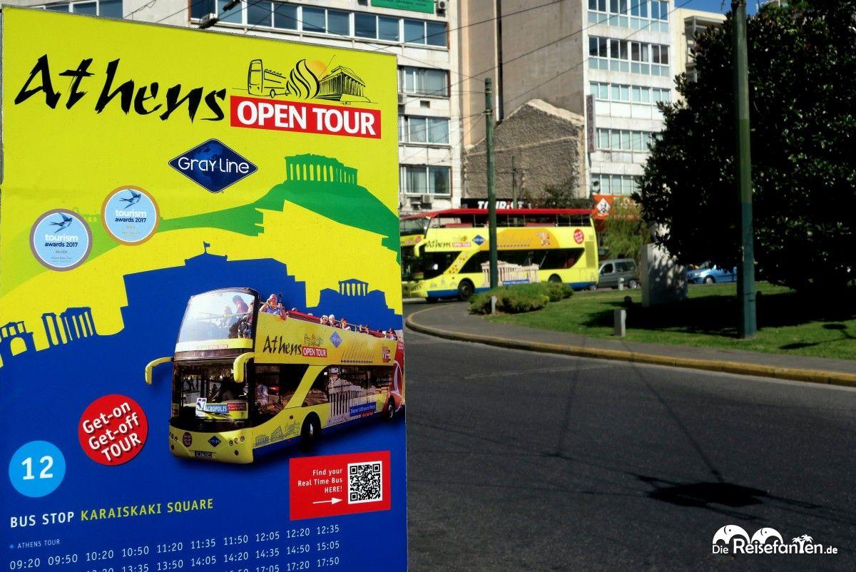 Athens Open Tour in Athen