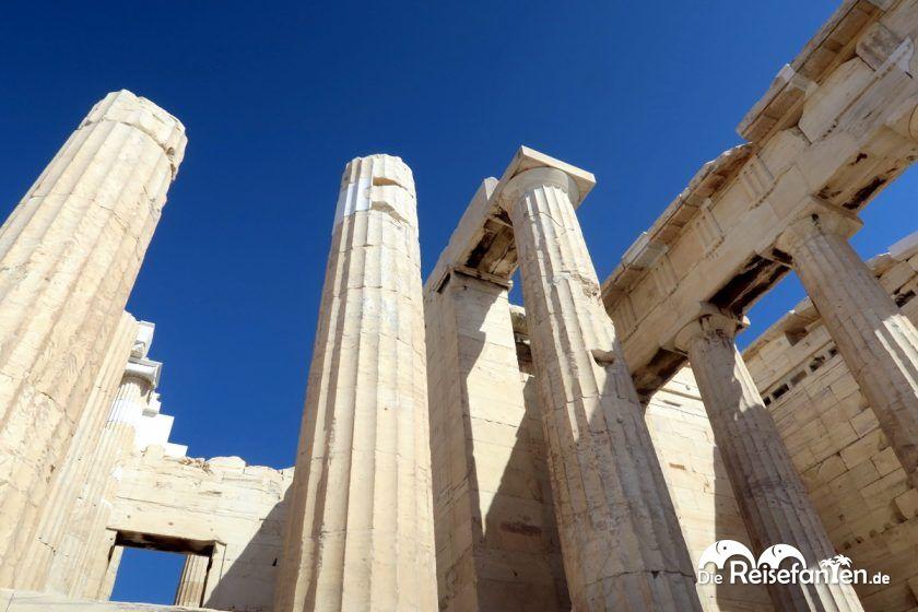 Säulen der Akropolis in Athen
