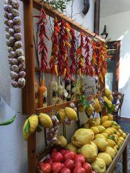 An der Amalfiküste werden zahlreiche Zitrusfrüchte angebaut