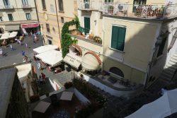 Blick auf den Vorplatz des Domes in Amalfi