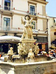 Brunnen in Amalfi