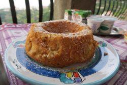 Frisch gebackener Kuchen im Il Rifugio del Poeta in Ravello
