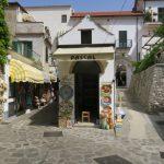 Kleine Einkaufsstrasse von Ravello