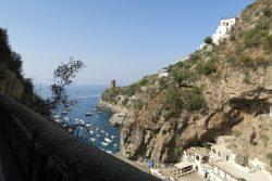 Strandbad entlang der Amalfitana