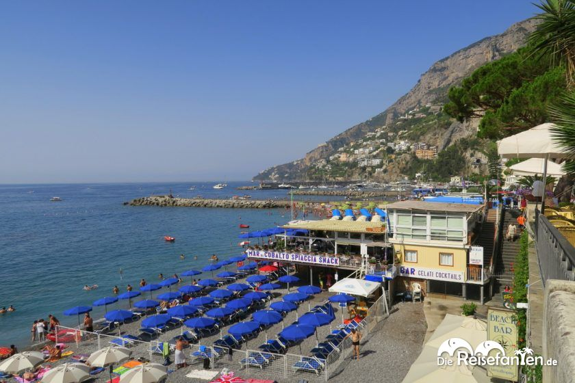 Badestrand von Amalfi