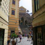 Blick auf den Dom von Amalfi
