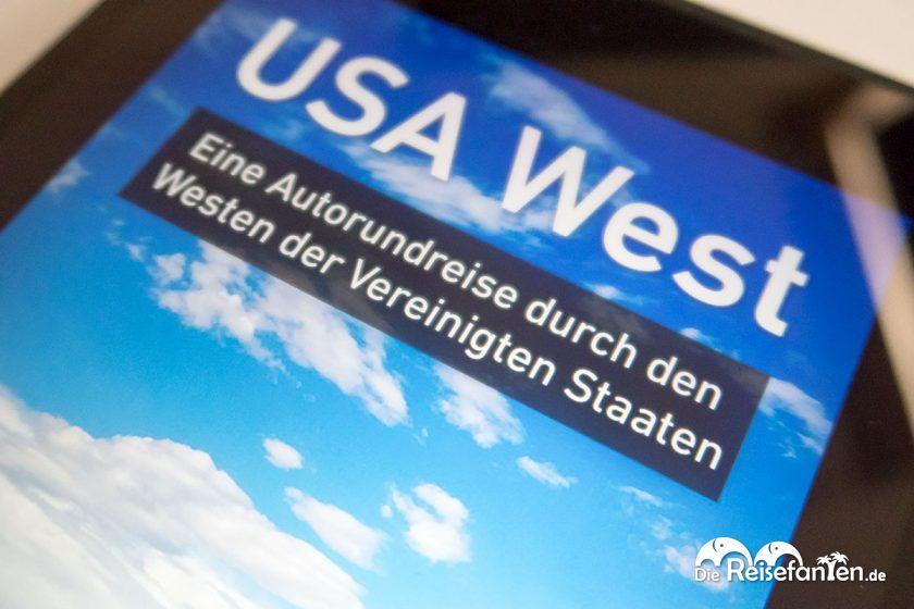 Das Coverbild des fünften Reisefanten eBooks zur Rundreise durch den Westen der USA