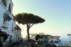 Enge Straßen auch in den Orten entlang der Amalfitana