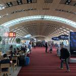 Am Flughafen Charles De Gaulle in Paris