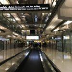 Am Flughafen in Bangkok