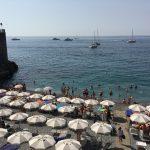 Der Strand von Amalfi