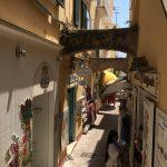 In den Strassen von Positano